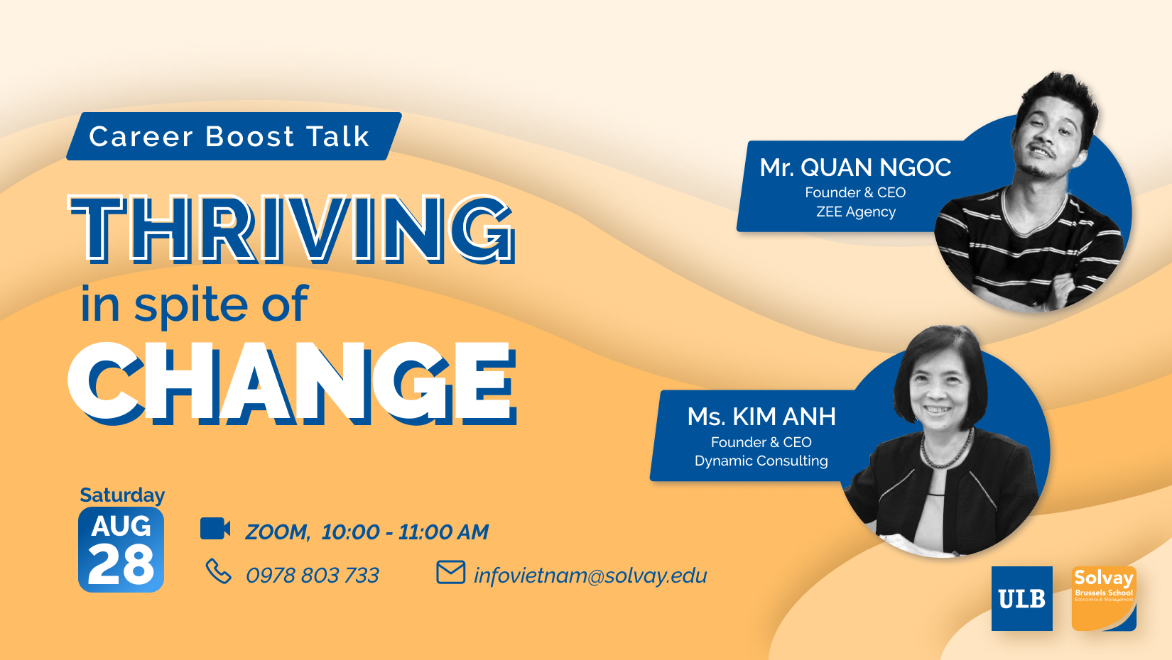 Career Boost Talk - Thriving in spite of Change